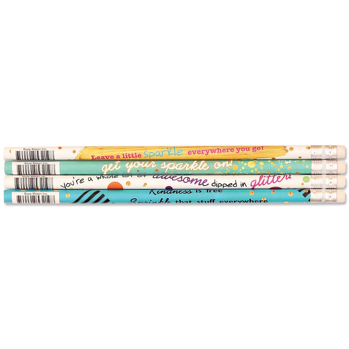 Sparkle Motivate  Pencils 24-Pack