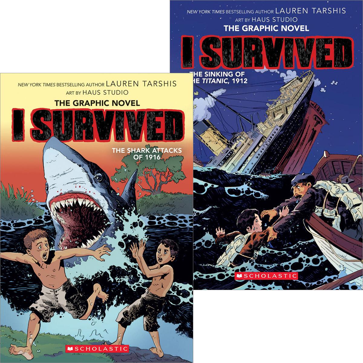 I Survived Graphic Novels Pack