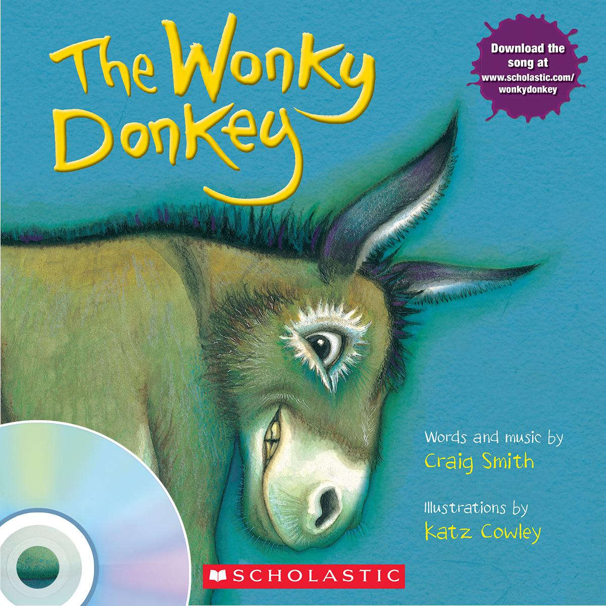 The Wonky Donkey Book & CD Pack