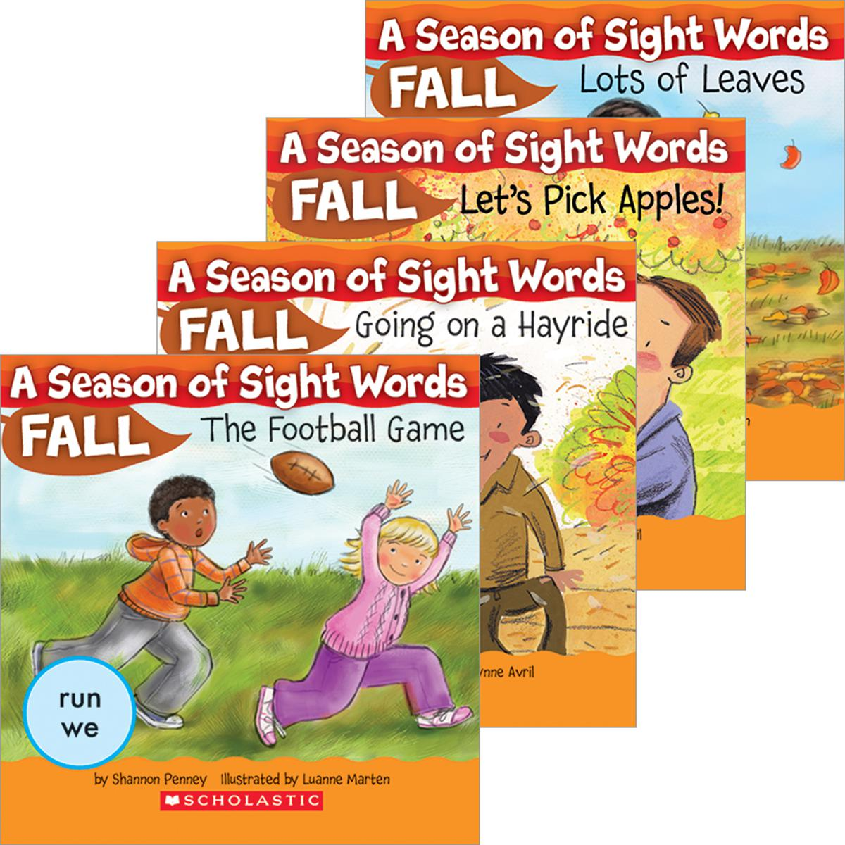 A Season of Sight Words Fall Pack