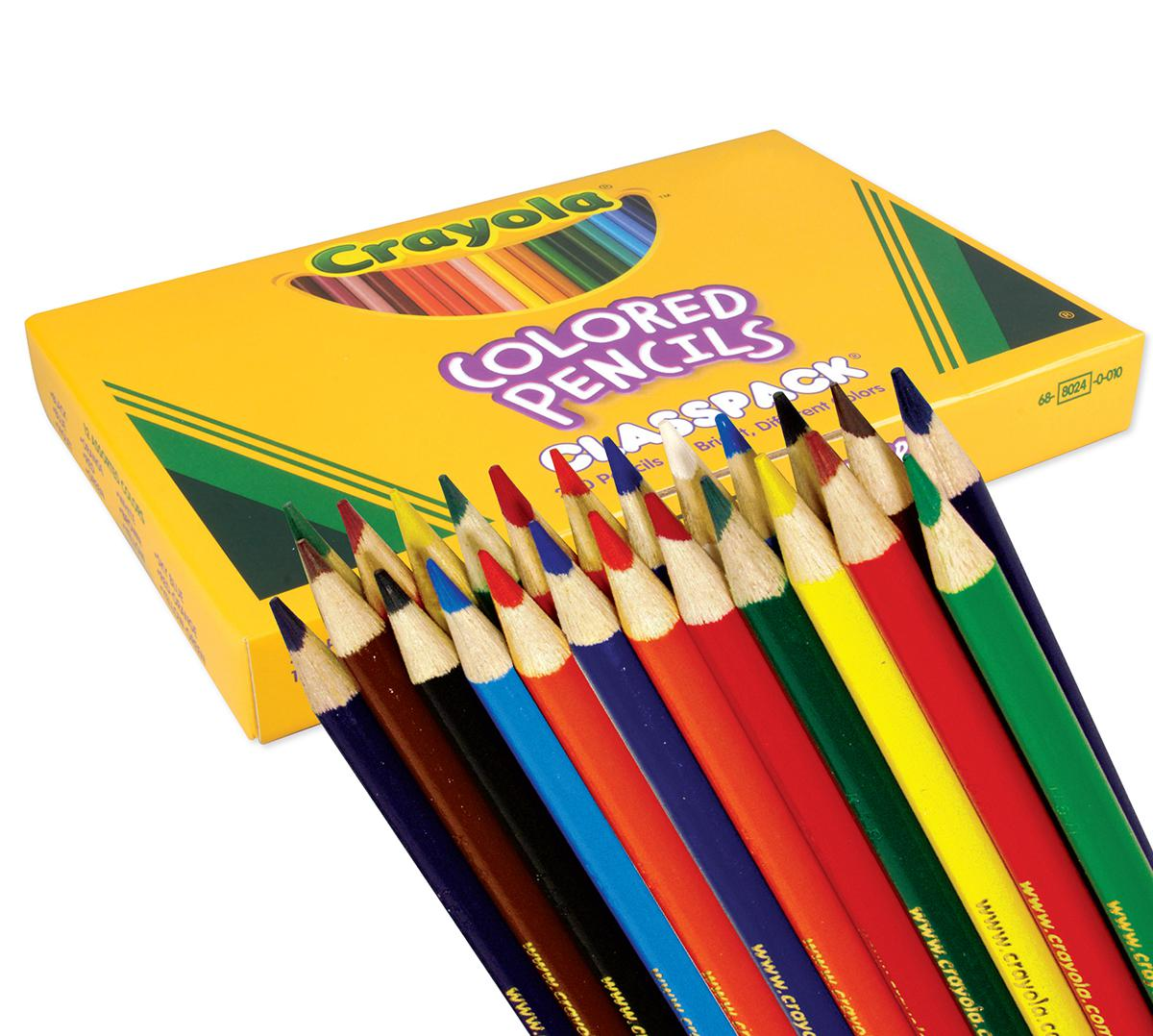 Crayola® Coloured Pencils Classpack (462)