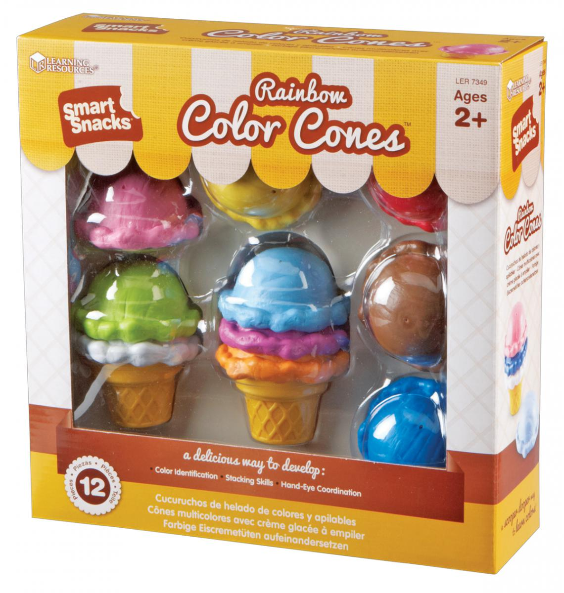 Smart Snacks® Rainbow Color Cones