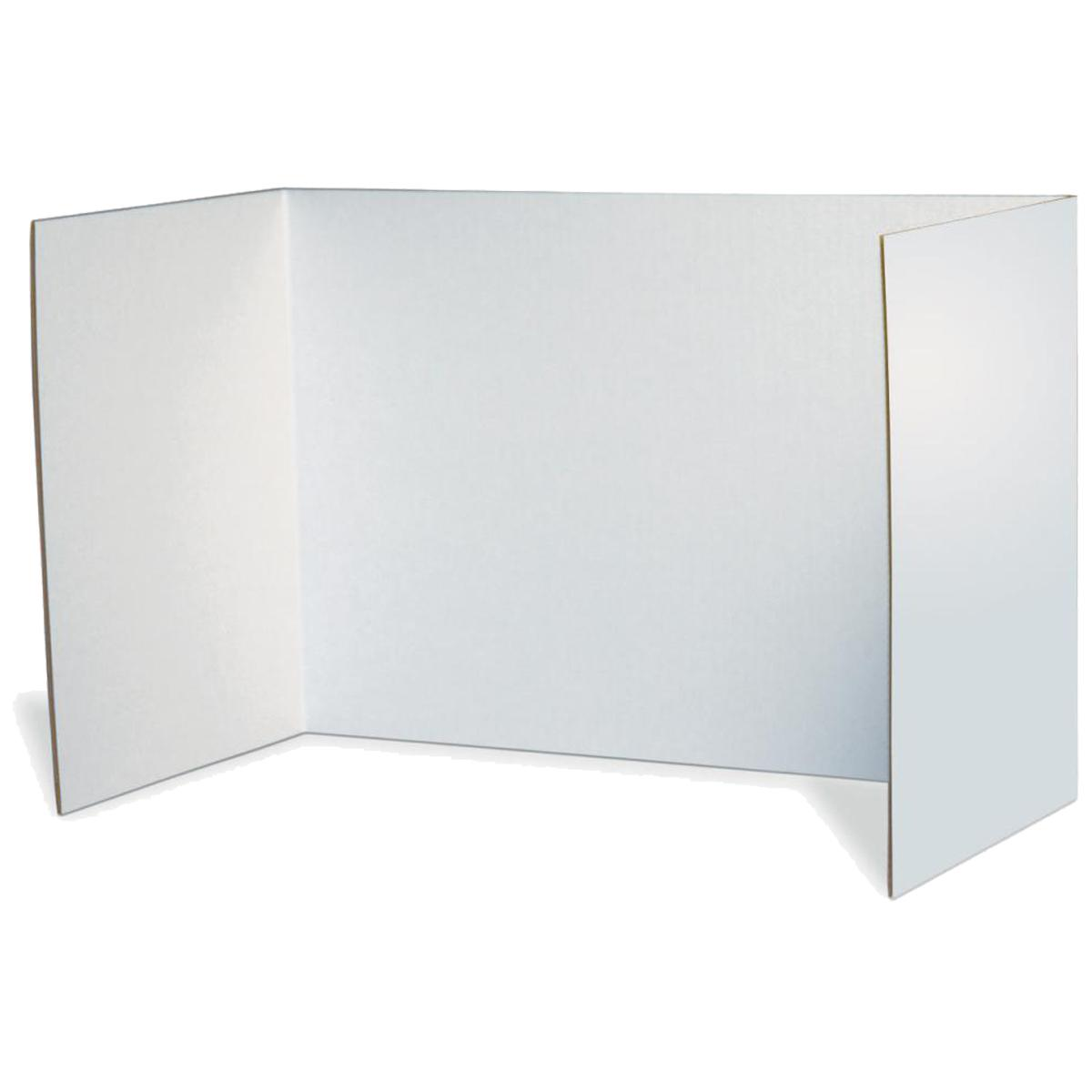 Privacy Boards 4-Pack (White)