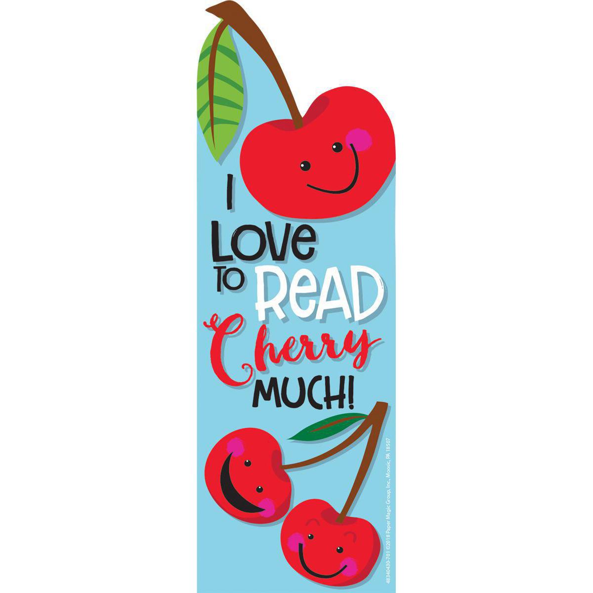 Cherry Scented Bookmark