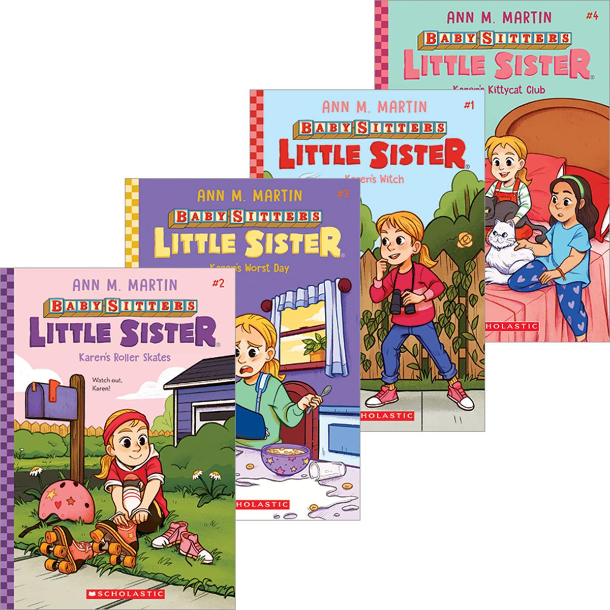 Baby-Sitters Little Sister® #1-#4 Pack