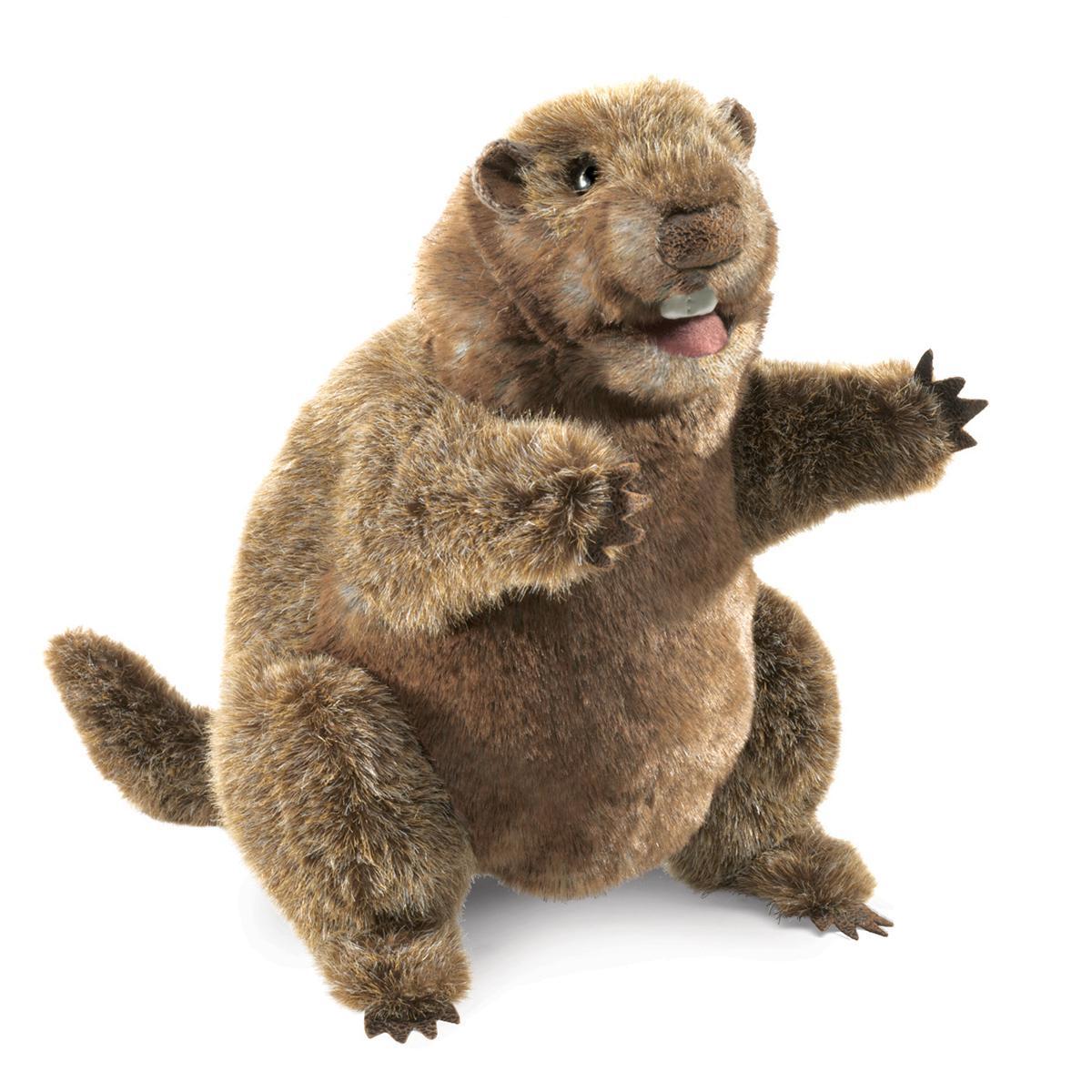 Groundhog 10-Inch Puppet