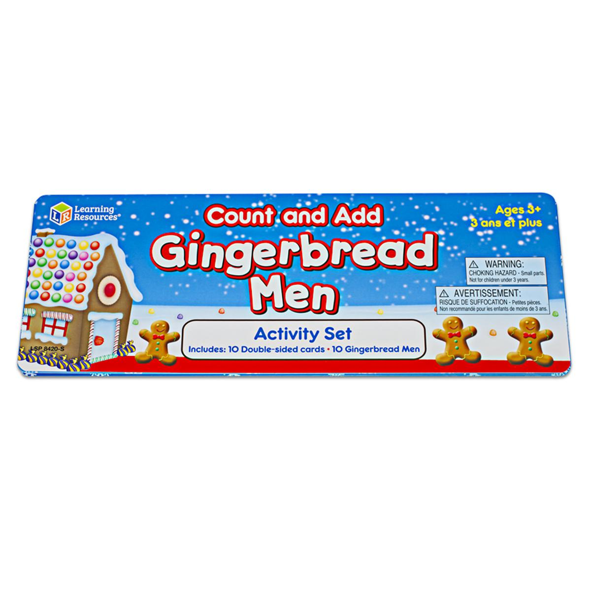 Count and Add: Gingerbread Men