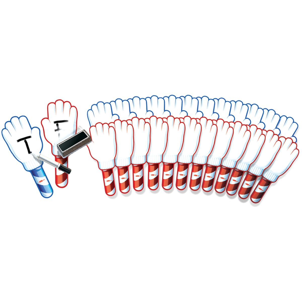 Hands Up Dry-Erase Answer Boards