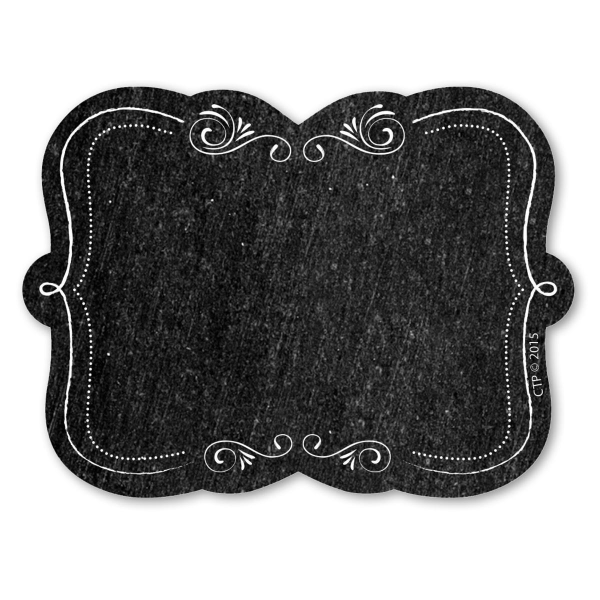 Blackboard Adhesive Labels