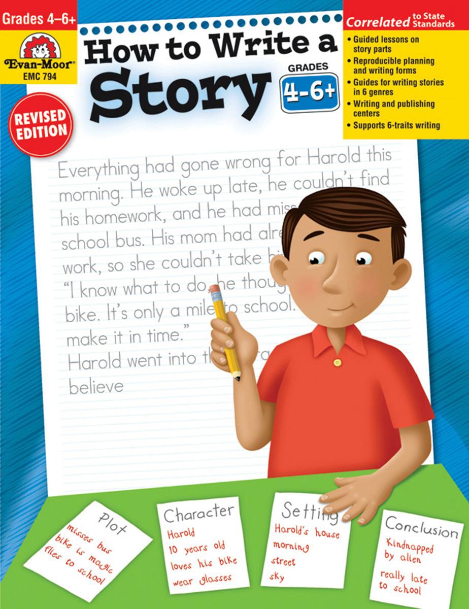 How to Write a Story Grade 4-6+