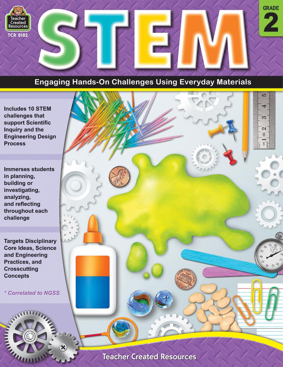 STEM Gr. 2:  Engaging Hands-On Challenges Using Everyday Materials