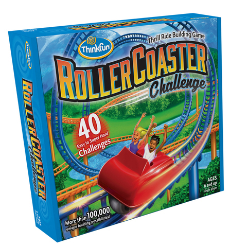 Roller Coaster Challenge: Thrill Ride Building Game