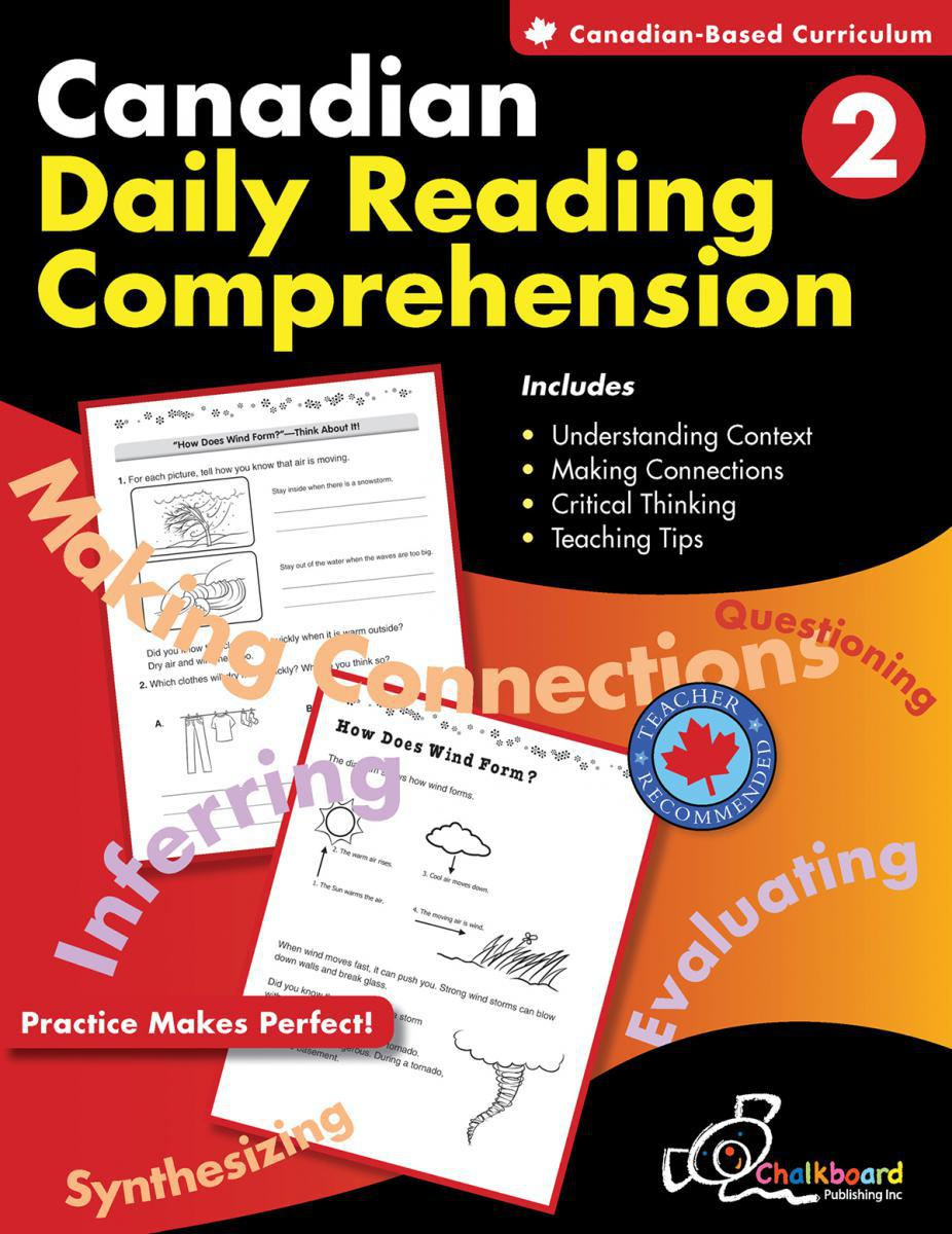 Canadian Daily Reading Comprehension Gr. 2