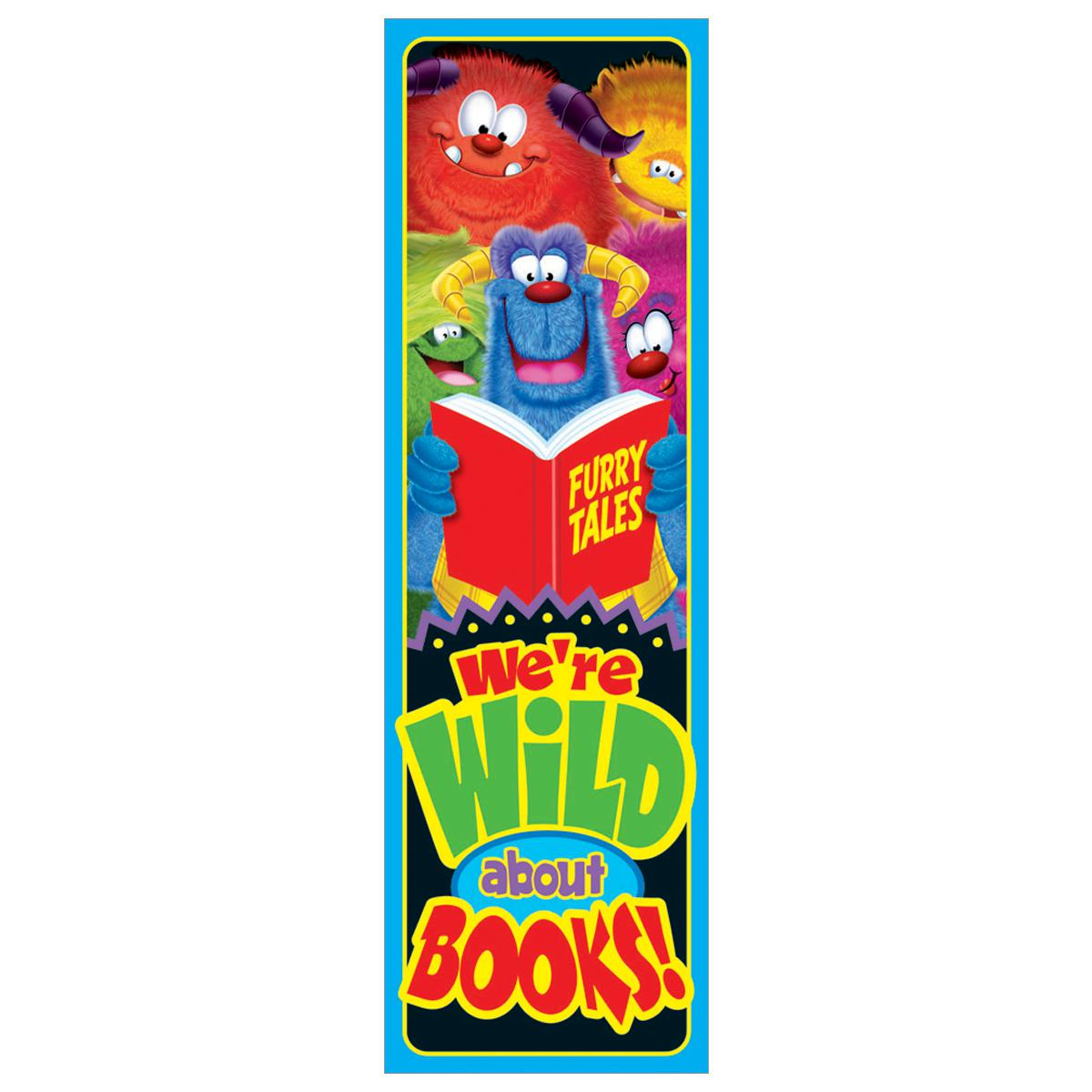 Wild About Books! Bookmarks