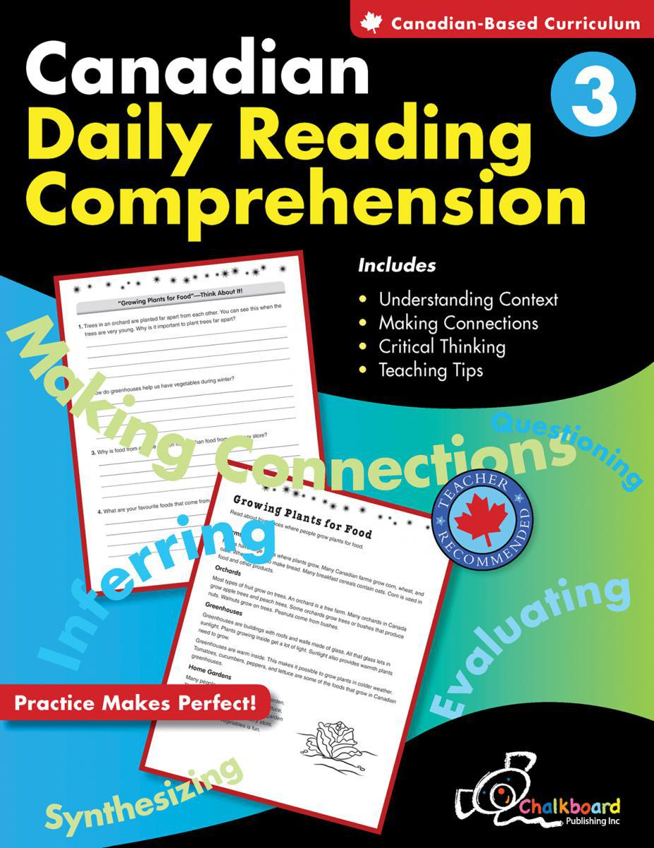Canadian Daily Reading Comprehension Gr. 3