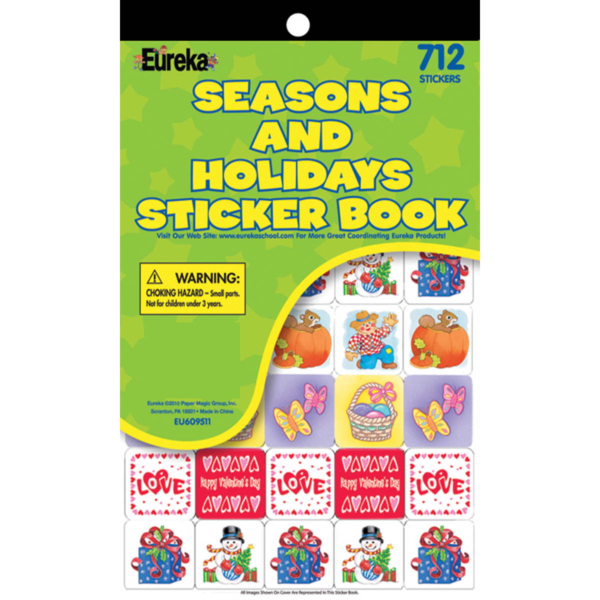 Seasons & Holidays Sticker Book