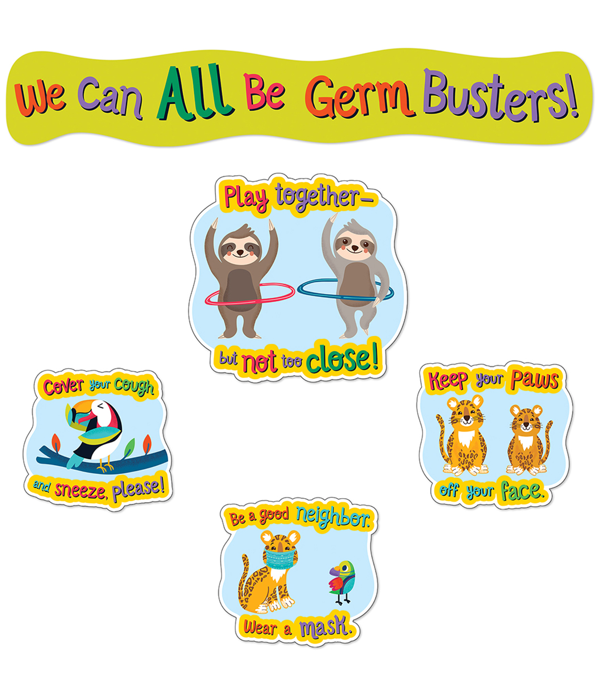 Germ Busters  Bulletin Board Set