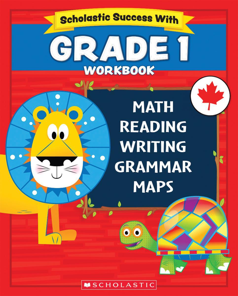 Scholastic Success With Grade 1 Workbook