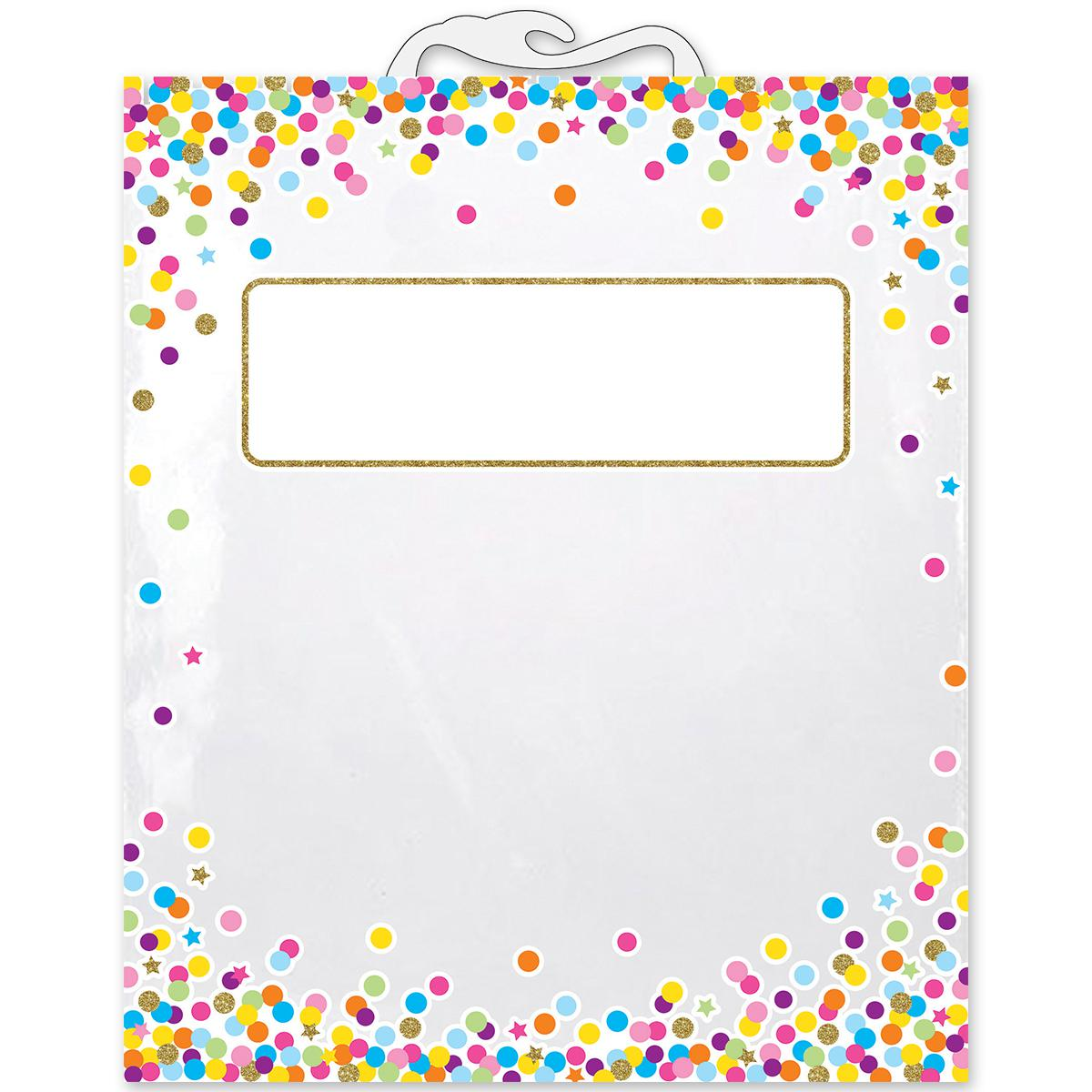 Confetti Book Storage Bags 5-Pack