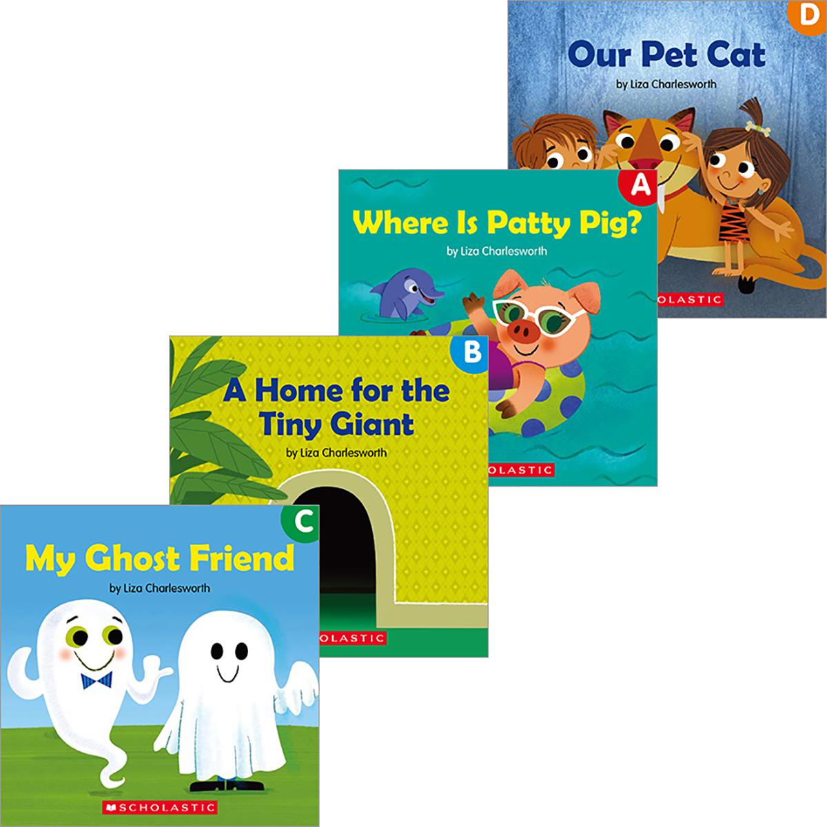 Buddy Guided Readers Pack (A-D)
