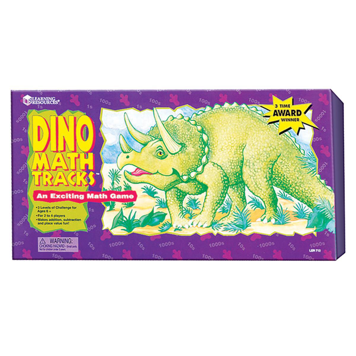 Dino Math Tracks: Place Value Game