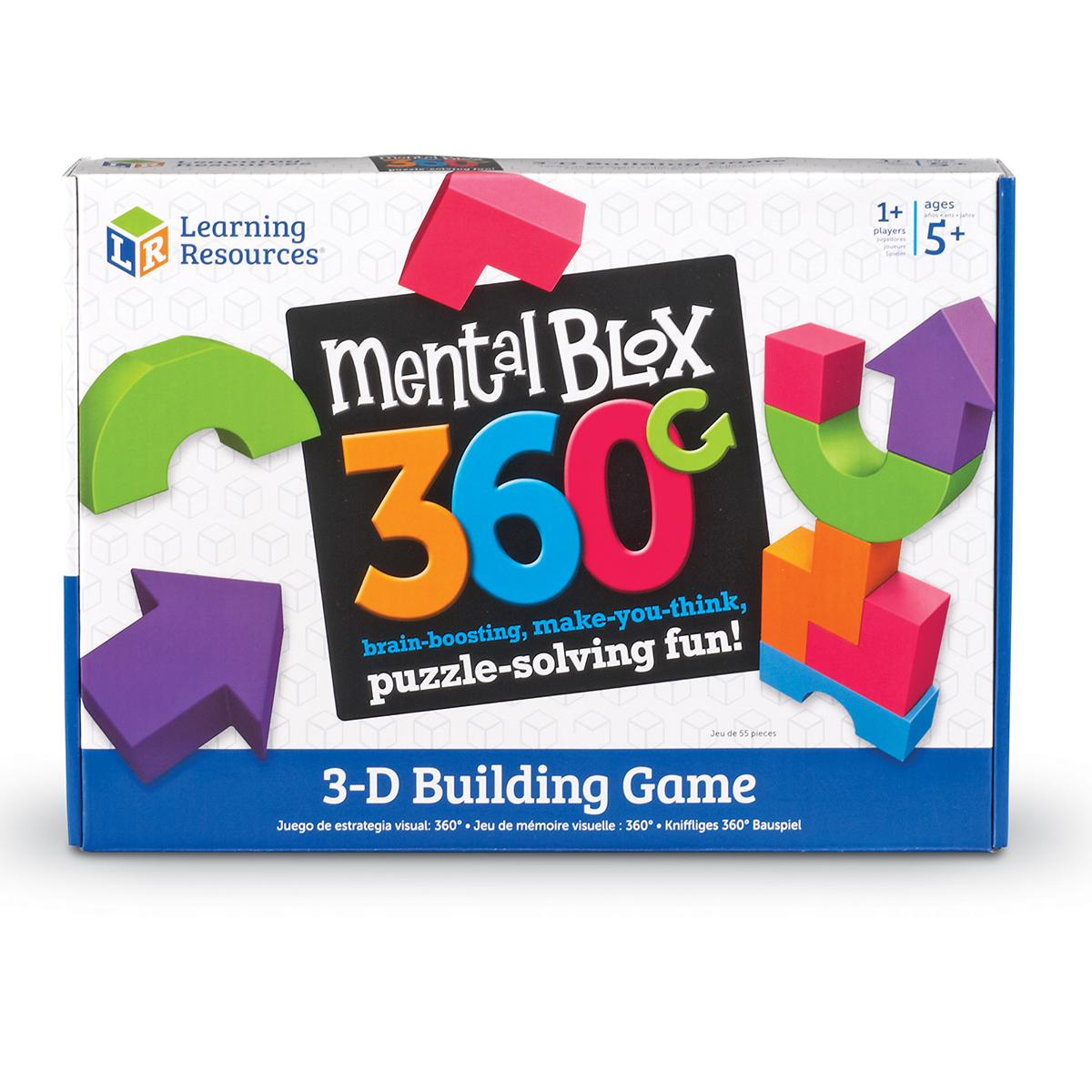 Mental Blox 360 3-D Building Game