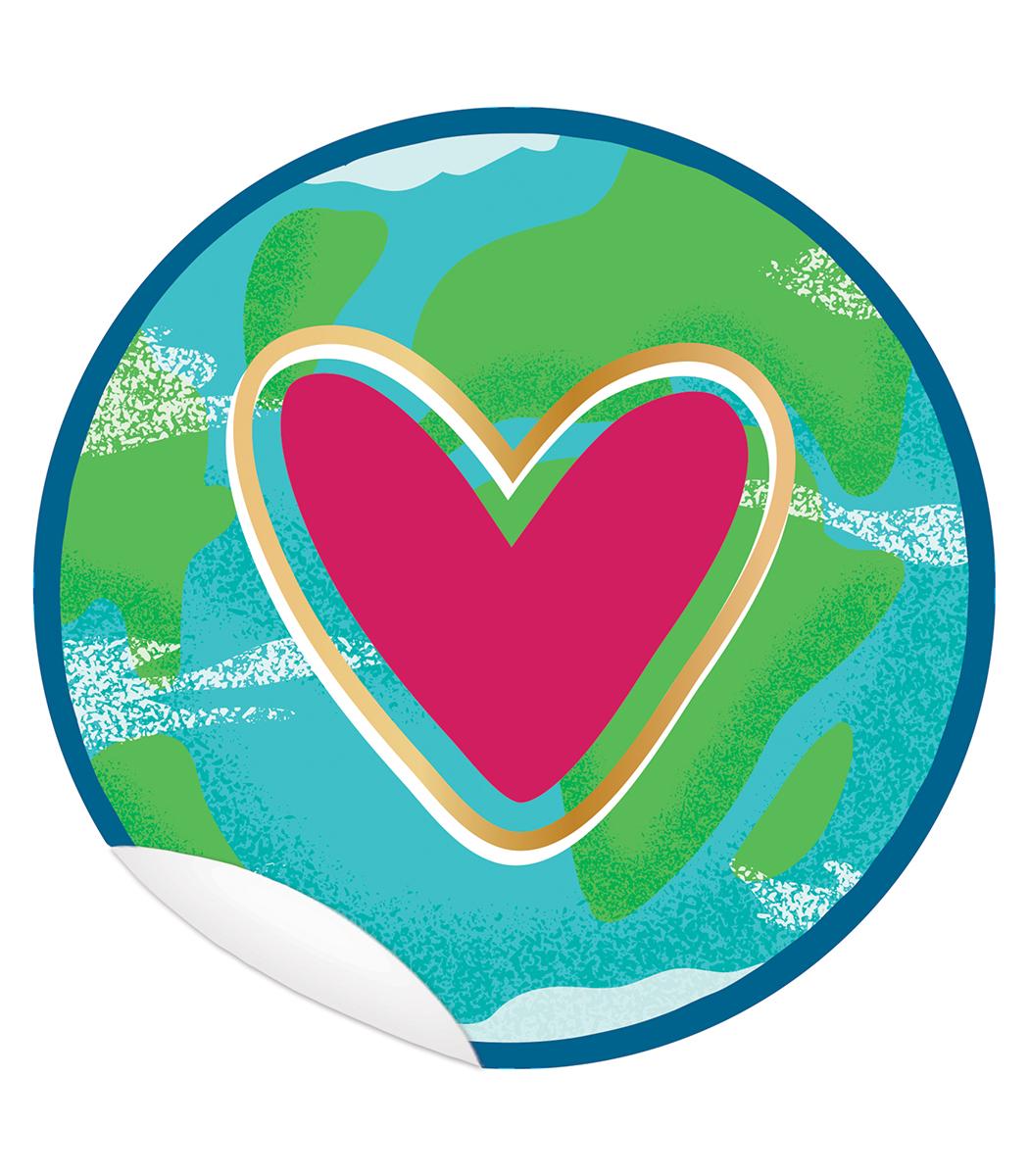 Autocollants de sol Un monde pour tous