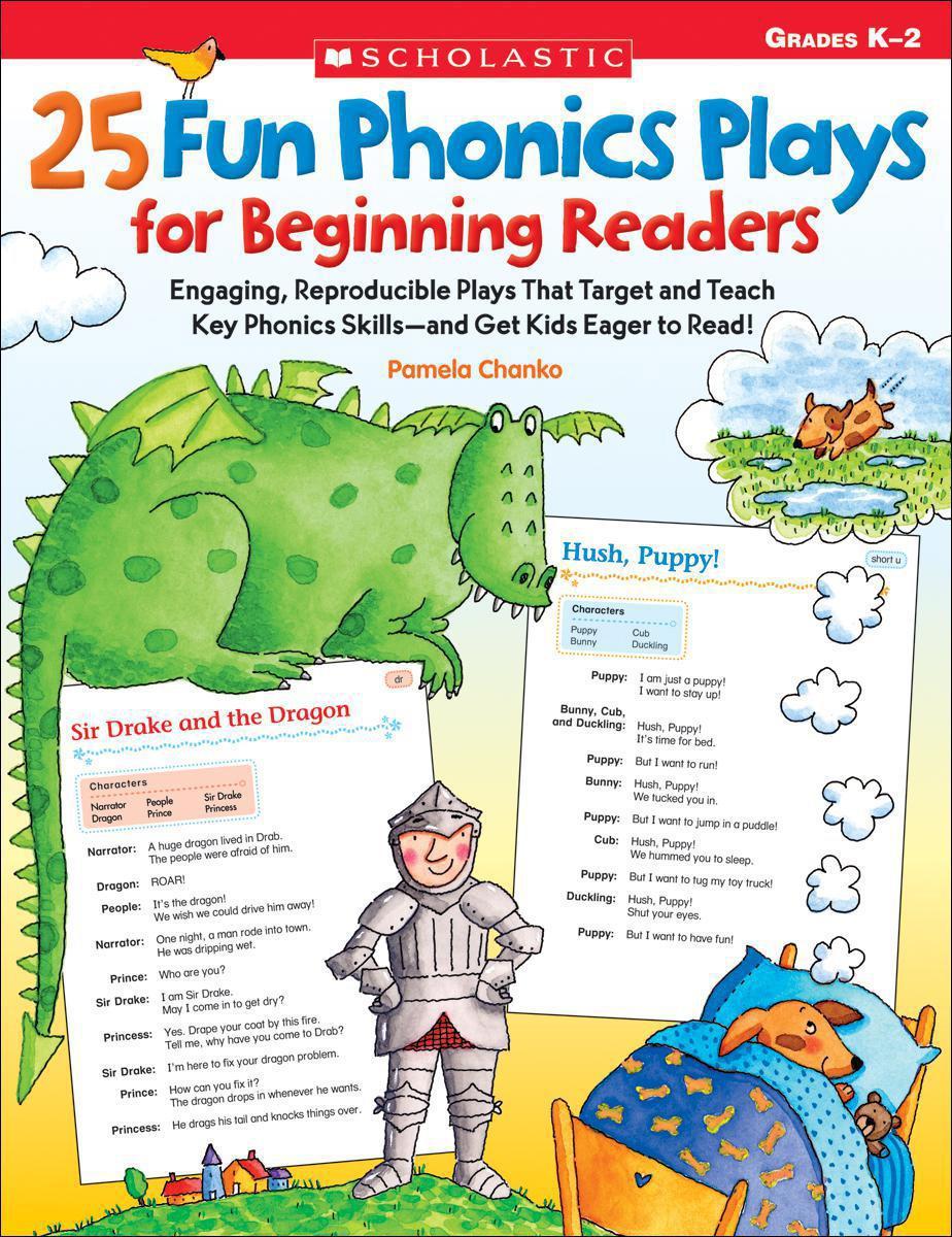 25 Fun Phonics Plays for Beginning Readers