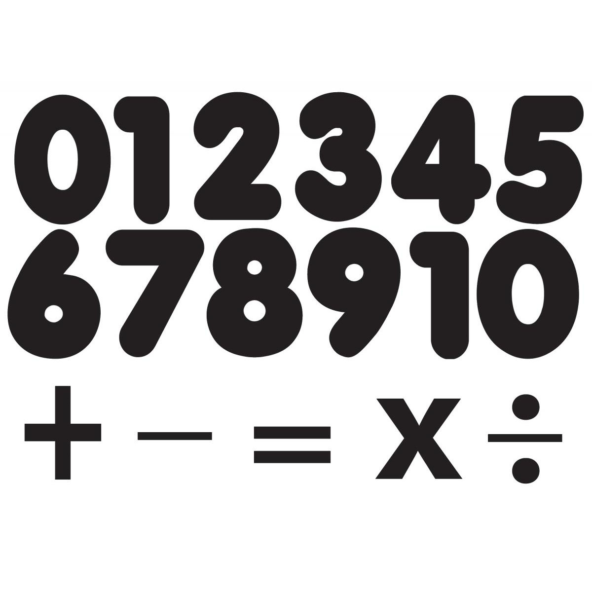 Black Magnetic Number Set