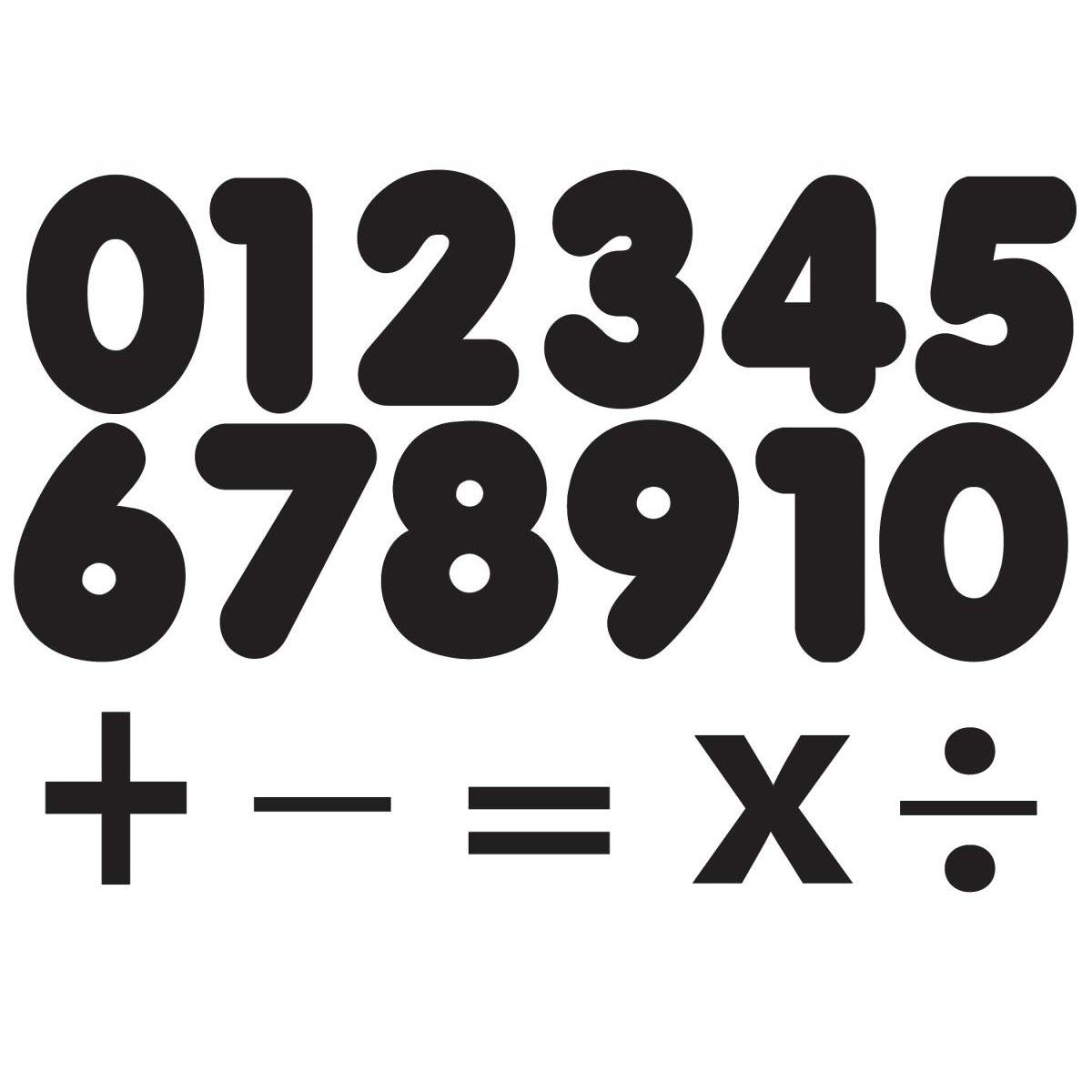 Black Magnetic Number Set