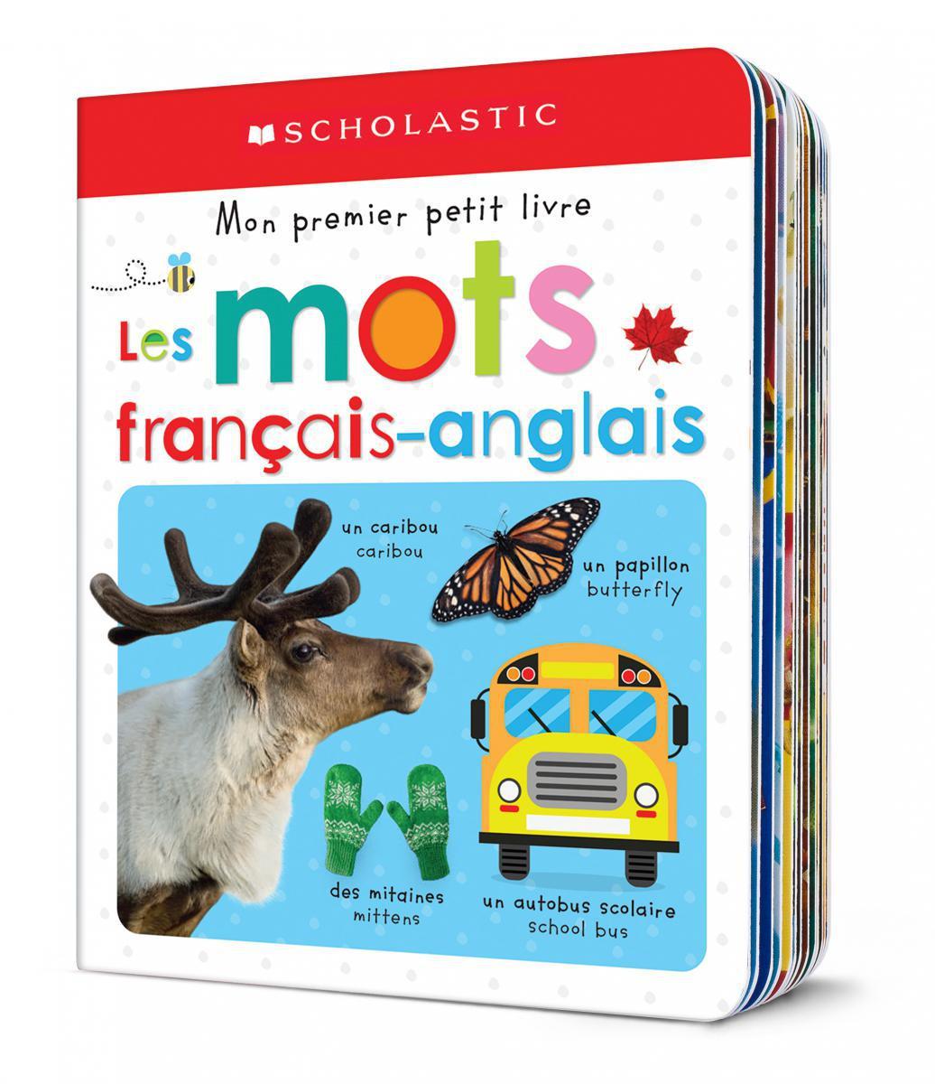 Mon premier petit livre : Les mots français-anglais