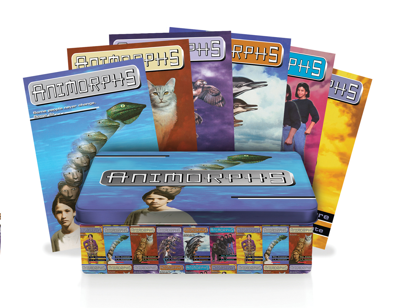 Animorphs Retro Tin Box Set