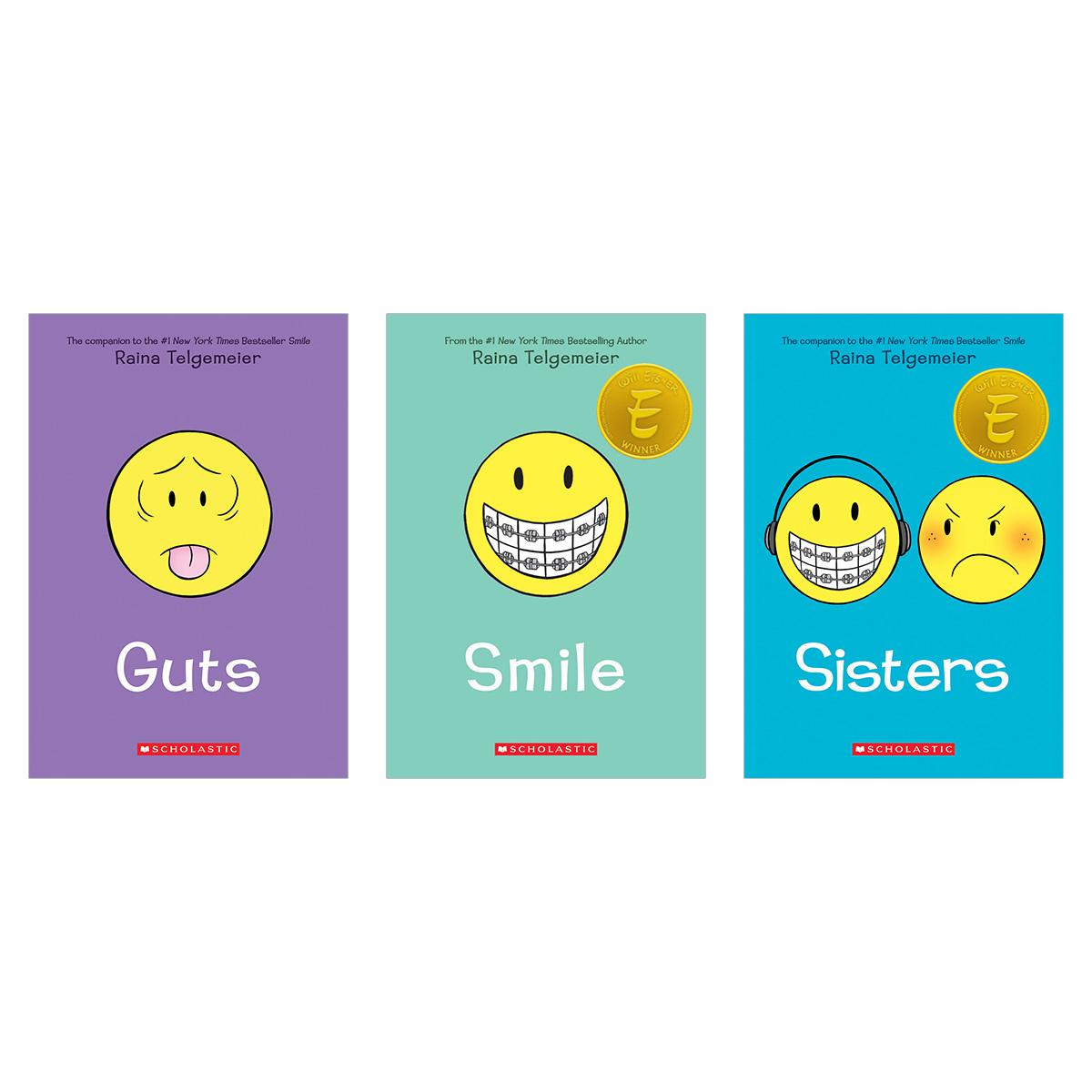 Smile/Sisters/Guts Boxed Set