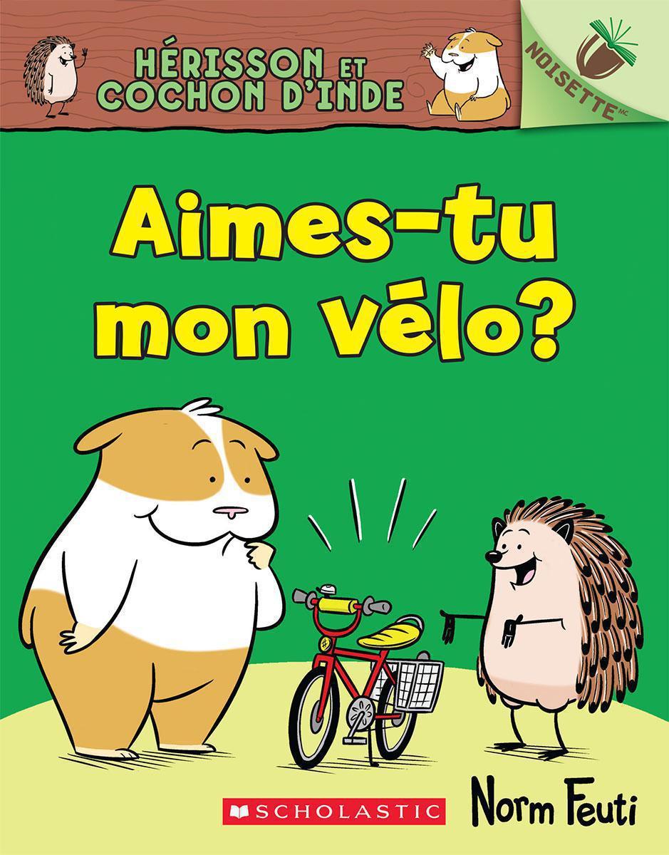 Hérisson et Cochon d'Inde : Aimes-tu mon vélo?