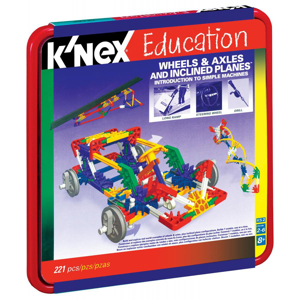 K'Nex® Introduction to Simple Machines: Wheels & Axles and Inclined Planes