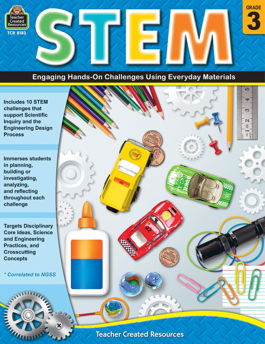 STEM Gr. 3: Engaging Hands-On Challenges Using Everyday Materials