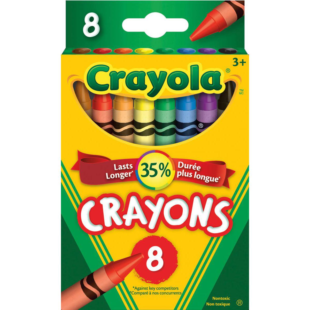 Crayola® Crayons: 8-Pack
