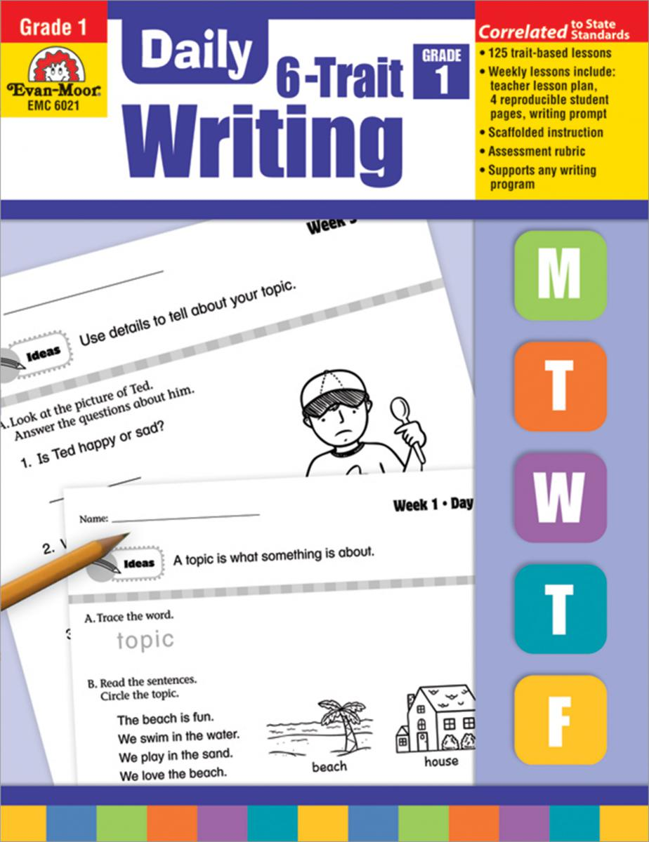 Daily 6-Trait Writing Grade 1