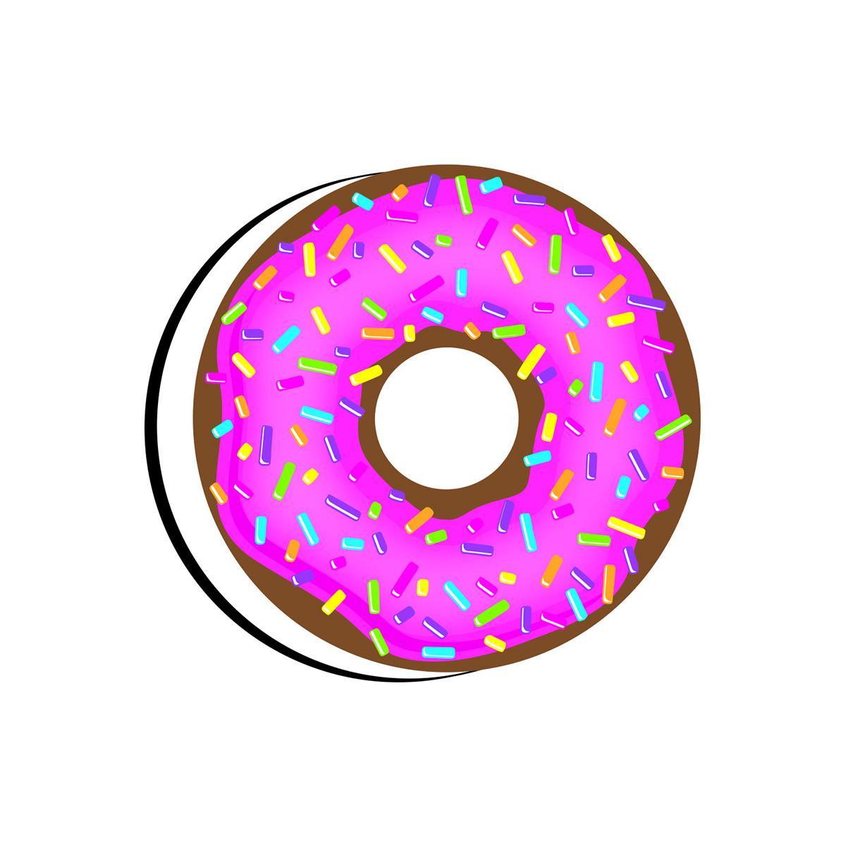 Donut Magnetic Whiteboard Eraser