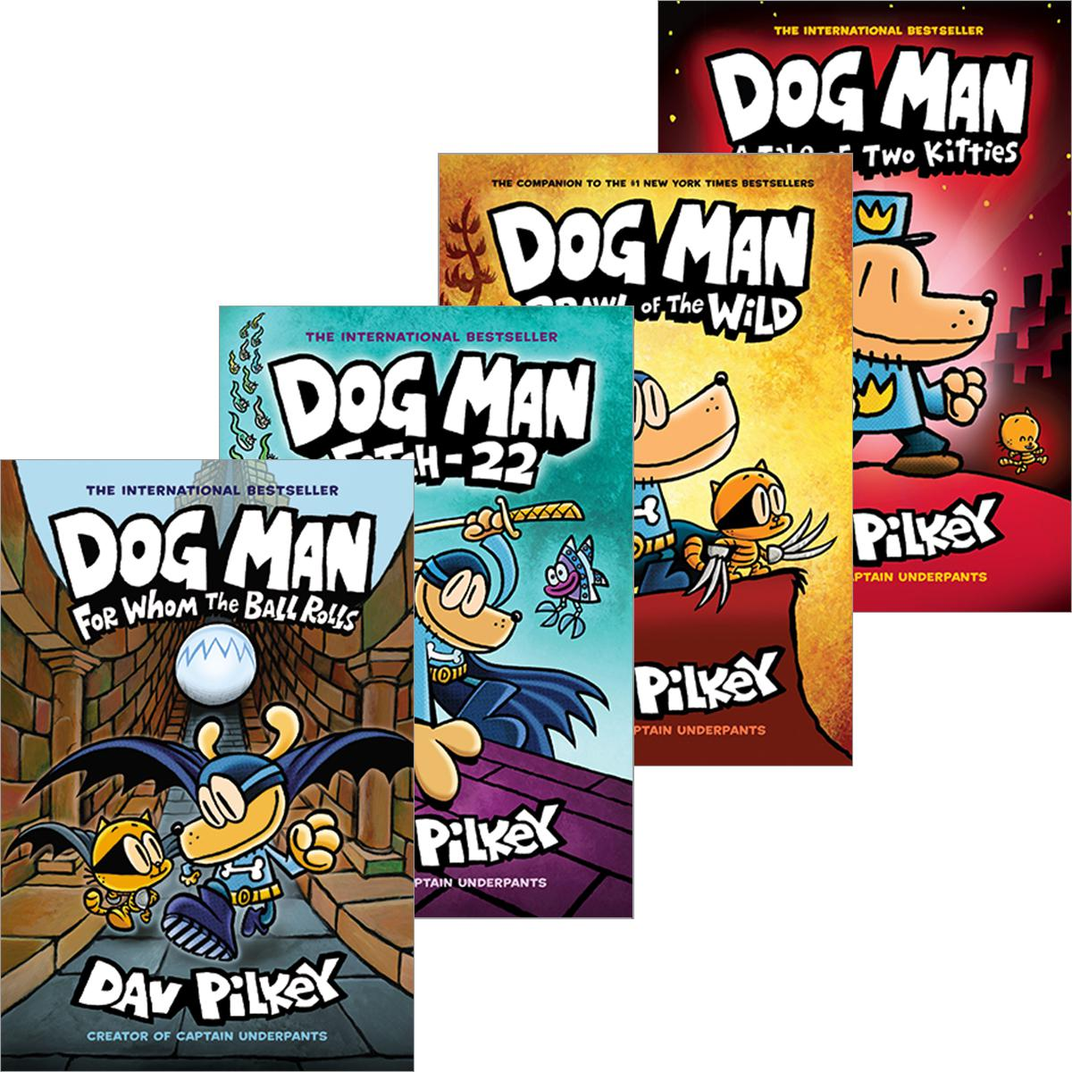 Dog Man #1 - #9 Pack