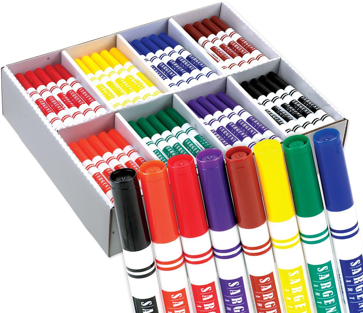 Sargent Art® Best-Buy Washable Marker Classpack