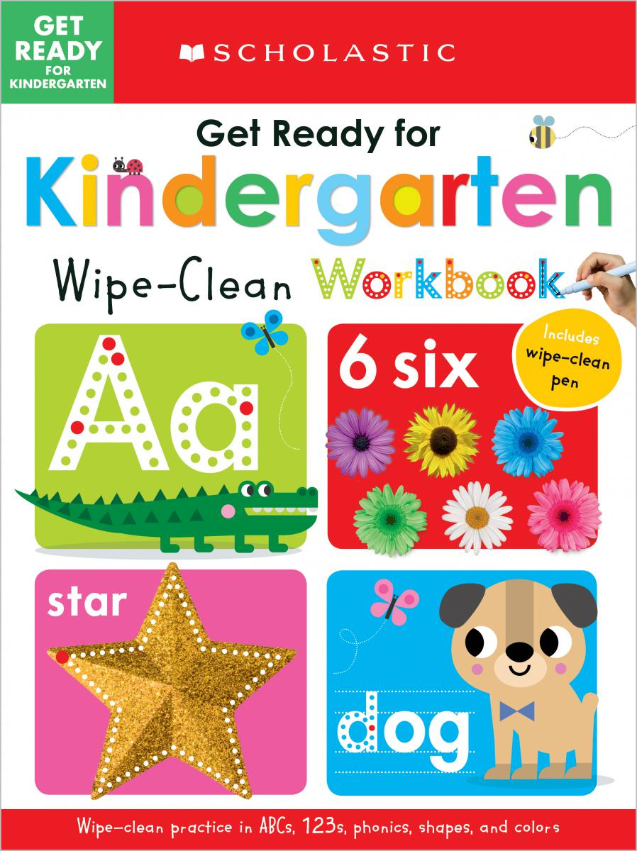 Scholastic Early Learners: Get Ready for Kindergarten Wipe-Clean Workbook