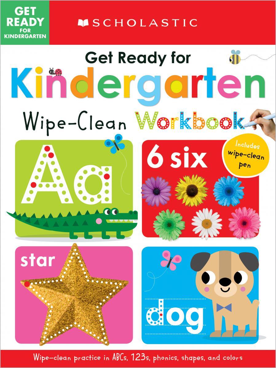 Scholastic Early Learners: Get Ready for Kindergarten Wipe-Clean Workbook