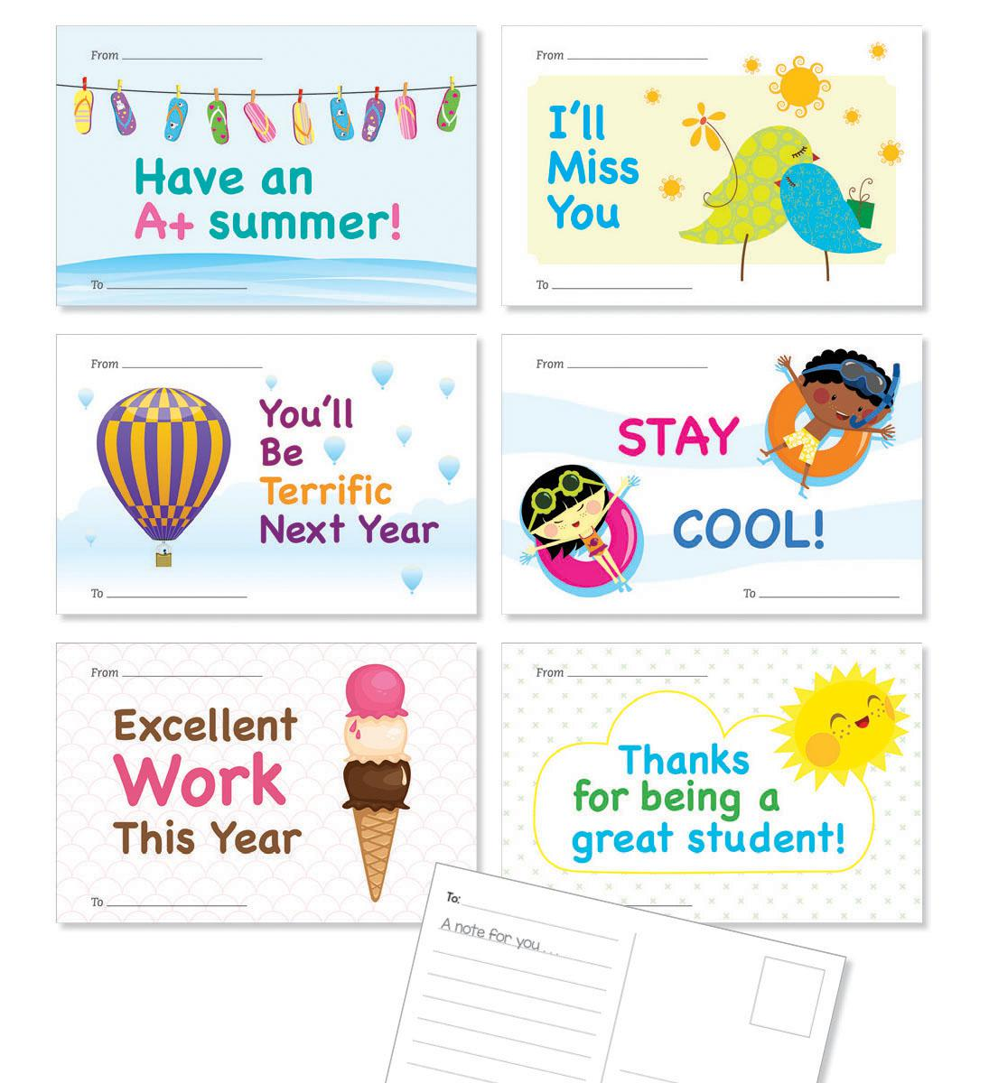 Hello Summer Postcards