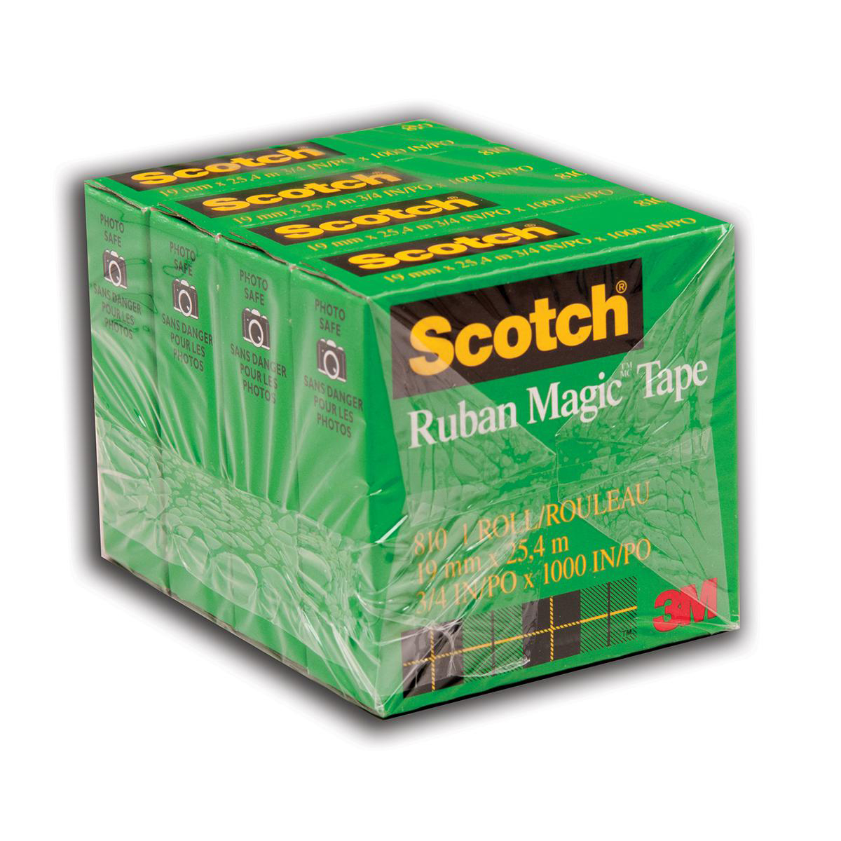 Scotch® Magic™ Tape 4-Pack