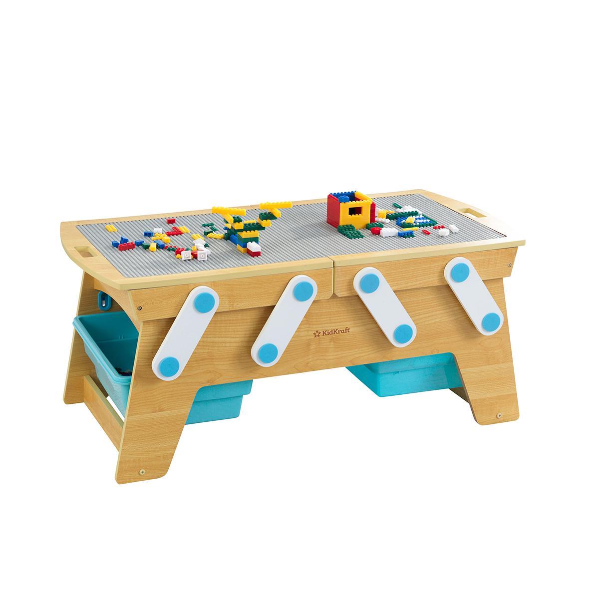 Building Bricks Play 'n Store Table
