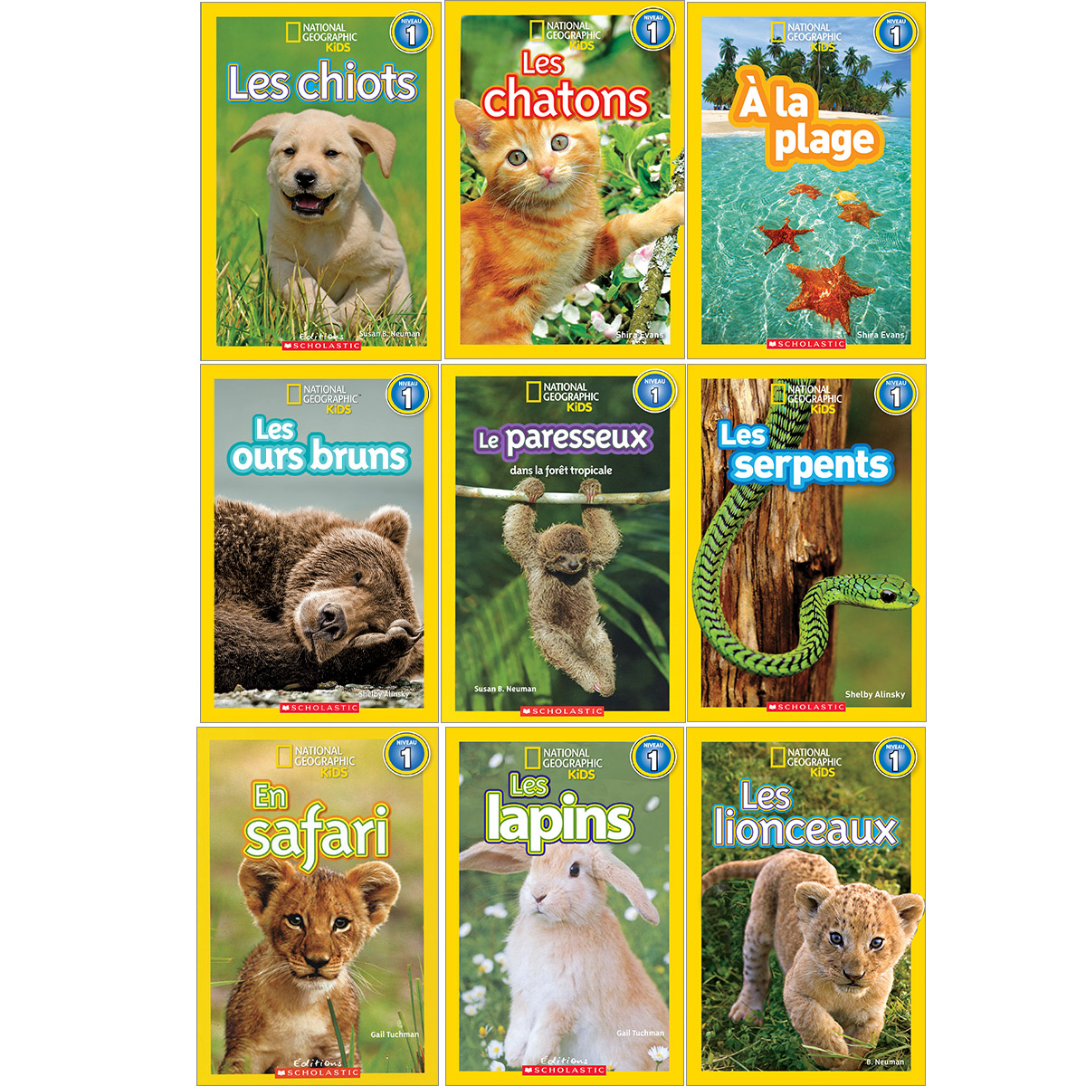 Collection National Geographic Kids Niveau 1