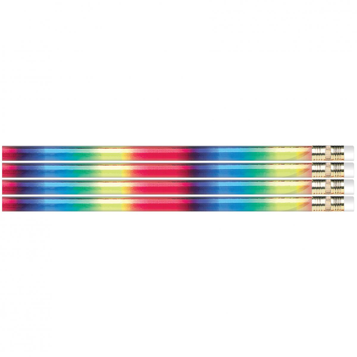 Metallic Rainbow Glitz Assorted Designer Pencils