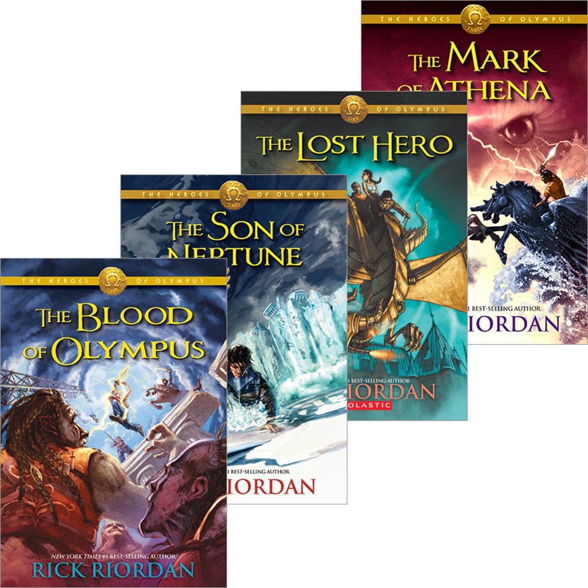 The Heroes of Olympus #1-#5 Pack