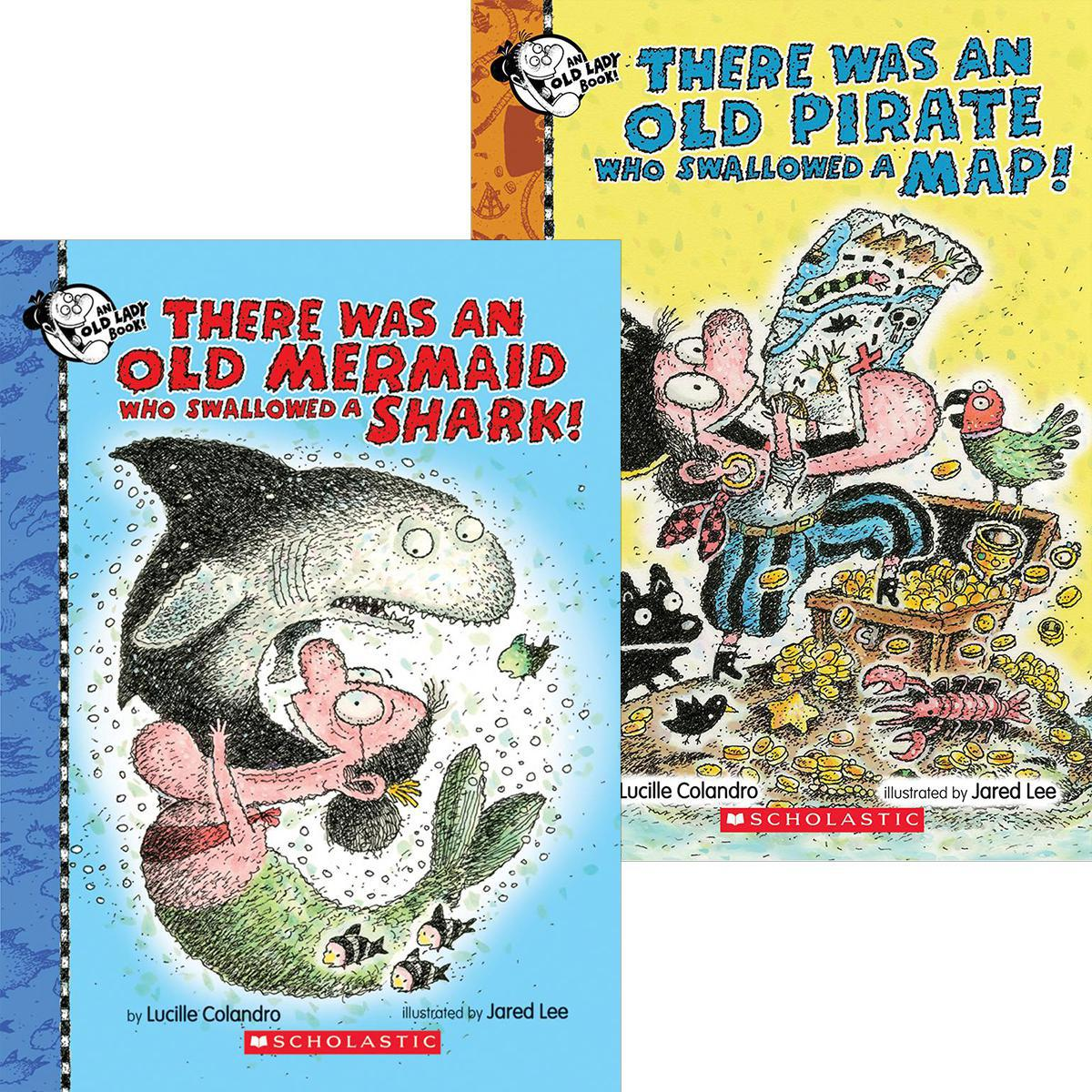 There Was an Old Mermaid and Pirate Pack